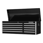 "Extreme Tools EX5610CHBK 56"" 10 Drawer Professional Tool Chest - Black"