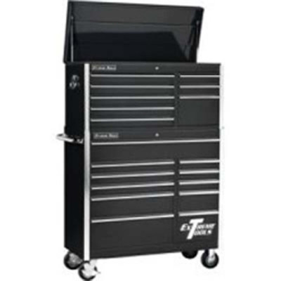 """Extreme Tools EX4181CRBK 41"""" Tool Chest Roller Cabinet"""