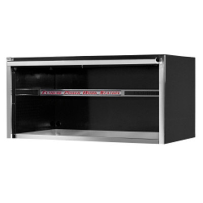 "Extreme Tools EX5501HCBK 55"" Extreme Power Work Station Hutch - Black"