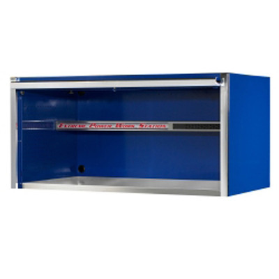 """Extreme Tools EX5501HCBL 55"""" Extreme Power Work Station Hutch - Blue"""