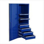 "Extreme Tools EX2404SCBL Blue Side Cabinet for the Extreme Tools 72"" Tool Box Series"