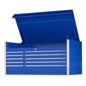"Extreme Tools EX5510CHBL 55"" 10 Drawer Professional Tool Chest - Blue"