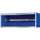 "Extreme Tools EX7201HCBL 72"" Blue Extreme Tools Triple Bank Hutch"