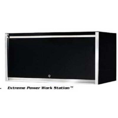 "Extreme Tools EX7201HCBK 72"" Black Extreme Tools Triple Bank Hutch"