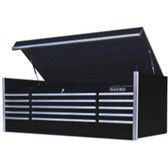 "Extreme Tools EX7215CHBK 72"" 15 Drawer Professional Top Chest, Black"