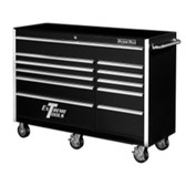 "Extreme Tools EX5611RCBK 56"" 11 Drawer Professional Roller Cabinet - Black"