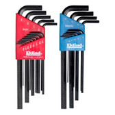 Eklind Tool Company 10222 22 Piece Combination (SAE and Metric) Long Hex-L Key Sets