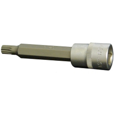 "Assenmacher 6300 XL-8 3/8"" Drive 12 Point Long Socket - 8mm"