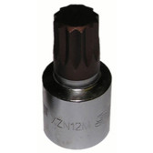 Vim Products XZN112 12mm XZN Stubby Driver