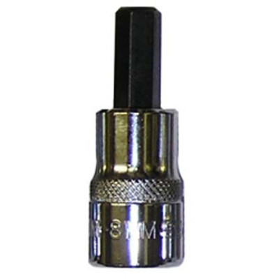 "Vim Products HM-8MM 3/8"" Drive 8mm Hex Bit"