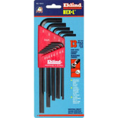 Eklind Tool Company 10213 13 Piece SAE Long Hex-L Hex Key Set