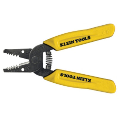 Klein Tools 11045 Flat Design Wire Stripper/Cutter for 10-18 AWG Stranded Wire