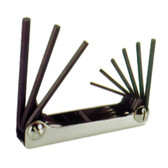 Eklind Tool Company 20912 9 Piece SAE Fold-Up Hex Key Set