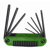 Eklind Tool Company 25570 7 Piece Ergo-Fold Tamper Proof Torx Key Set