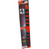 "Vim Products V522 1/2"" Socket Rack, 10-1/2"" Studs"