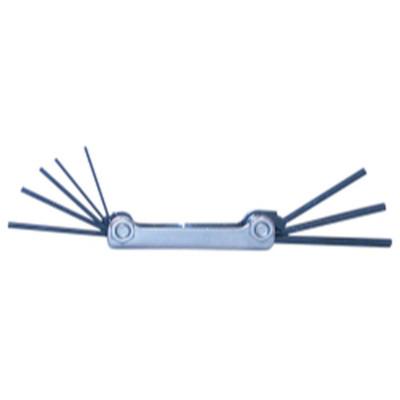 Eklind Tool Company 20811 8 Piece SAE Fold-Up Hex Key Set