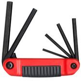 Eklind Tool Company 25611 6 Piece SAE Ergo-Fold Hex Key Set