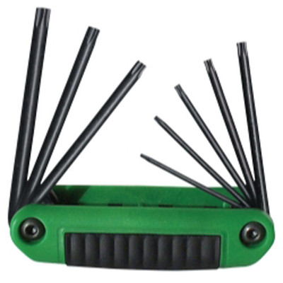 Eklind Tool Company 25581 8 Piece Ergo Fold Torx Key Set
