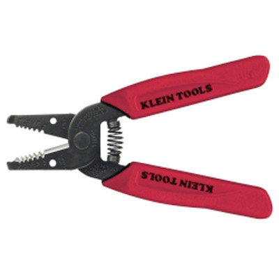 Klein Tools 11046 Flat Design Wire Stripper-Cutter for 16-26 AWG Stranded Wire
