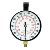 "Star Products 21003 3-1/2"" Replacement Gauge, 100 PSI"