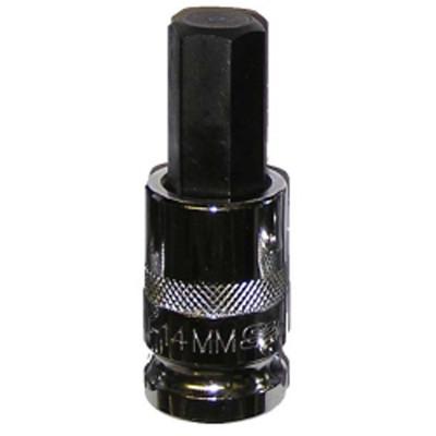 "Vim Products HM-14MM 1/2"" Drive 14mm Hex Bit Socket"