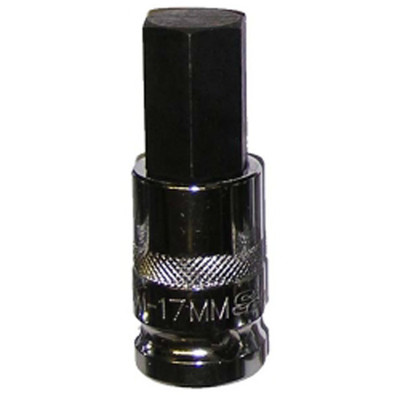 "Vim Products HM-17MM 1/2"" Drive 17mm Hex Bit"