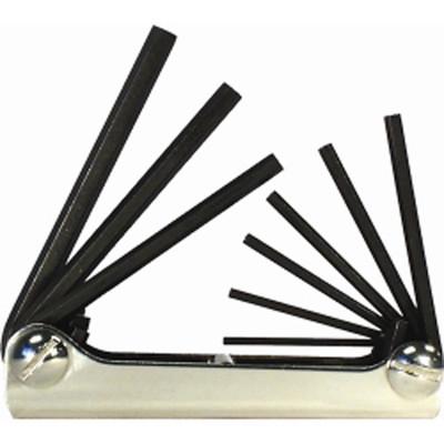 Eklind Tool Company 20911 9 Piece SAE Fold-Up Hex Key Set