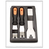 Vim Products DT6000 3-Piece Upholstery Tool Set