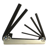 Eklind Tool Company 21151 5 Piece Metric Fold-Up Hex Key Set