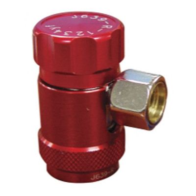 Mastercool 83834 R1234yf High Side Coupler (Red)