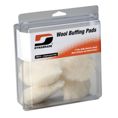 "Dynabrade Products 76015 3"" Synthetic Wool Pads"
