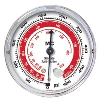 """Mastercool 85500 2-1/2"""" High Side R-134A/R-12 Replacement Gauge"""