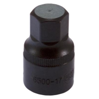 """Assenmacher 6500-17 1/2"""" Drive Allen Socket - 17mm"""