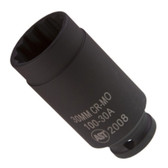 "Assenmacher 100-30 A 1/2"" Drive Deep Socket - 30mm"