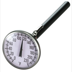 "Mastercool 91120 1-3/4"" Pocket Thermometer"