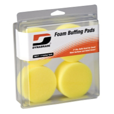 """Dynabrade Products 76017 3"""" Yellow Foam Cutting Pads"""