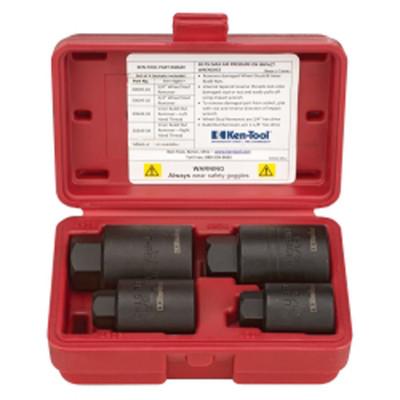Ken-tool 30649 4 Piece Heavy Duty Wheel Stud Remover Set