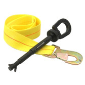 Steck Manufacturing 71490 I-Bolt Universal Tow Eye with Safety Strap