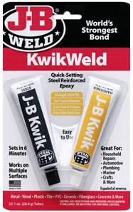 JB Weld 8276 Kwik Cold Weld Adhesive