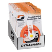 "Dynabrade Products 95996 6"" Sanding Pad Counter Display (Non-Vacuum)"
