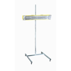 Infratech 14-1000 Portable Infrared Curing Lamp - 1500 Watt