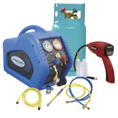 Mastercool 69100-55R Complete Refrigerant Recovery System with 55100-R Leak Detector