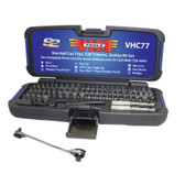 Vim Products VHC77 77 Piece Half Cut Stubby Bit Set