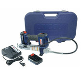 Lincoln Lubrication 1884 20-Volt Lithium Ion Powerluber Kit (Dual Battery)