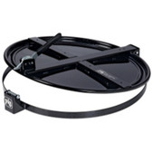 New Pig Corporation DRM659-BK Pig Latching Drum Lid - for 55 gallon - Black