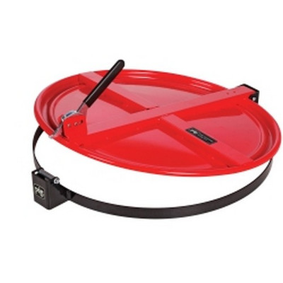New Pig Corporation DRM659-RD Pig Latching Drum Lid - for 55 gallon - Red