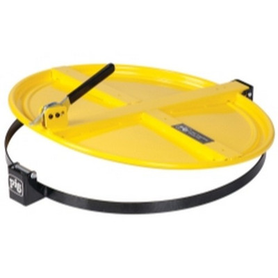 New Pig Corporation DRM659-YW Pig Latching Drum Lid - for 55 gallon - Yellow