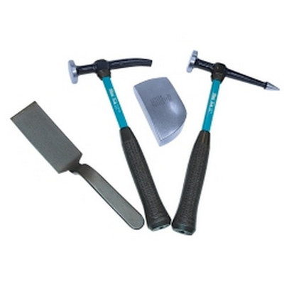 Martin Tools 644KFG 4 Piece Body and Fender Kit with Fiberglass Handles
