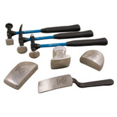 Martin Tools 647KFG 7 Piece Body and Fender Repair Set with Fiberglass Handles