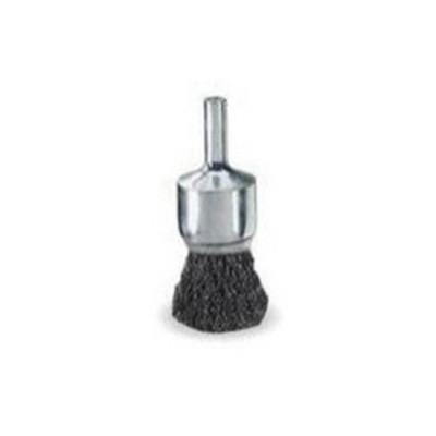 "Weiler Brush 10005 3/4"" Crmp Wire End Brush 006"